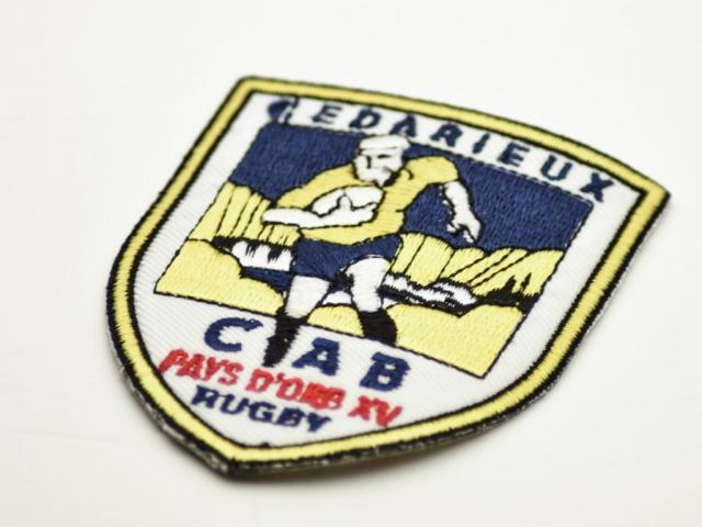 Écusson club de rugby