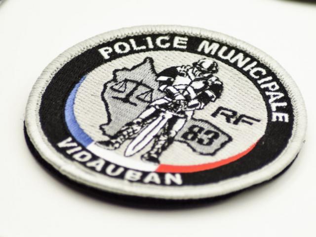 Rondache Police municipale vidauban